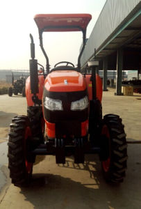 New 60HP Four-Wheel Driving Wheel Tractor with Diesel Engine of Kubota Type (OX604) pictures & photos