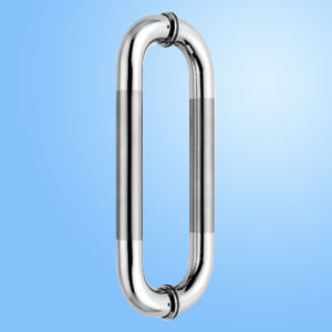 Glass Door Lock/Pull Handle Lock pictures & photos