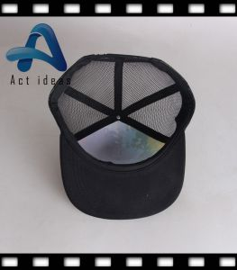 Promotional Fancy Mens Hats and Caps Mens Leather Snap Back Caps pictures & photos