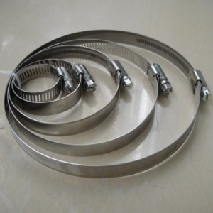 American Style Clamp / Hose Clamp Stainless Steel Clamp, ISO Certificated Hose Manufacaturer pictures & photos