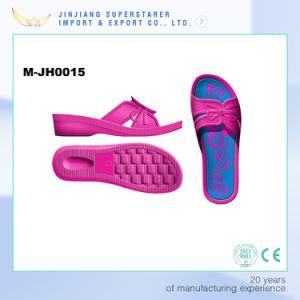 Lady EVA Injection Outdoor Slipper Mould, Aluminum and Iron Women Beach Slipper Mold pictures & photos
