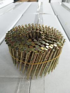 Q195/Q235 Sharp Point Galv Pallet Nails Roofing Nails Coil Nails pictures & photos