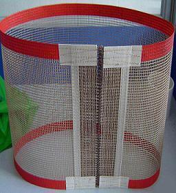 PTFE Open Mesh Conveyor Belt with Reinforcement Edges pictures & photos