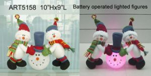 Plush Snow Friends Playing EVA Snowball, -Christmas Lights pictures & photos
