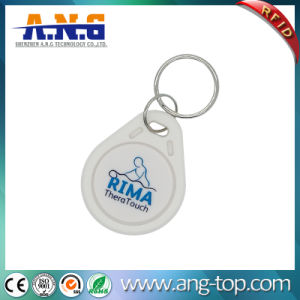 Cmyk Thermal Printed Numbers Factory Visiting RFID 1k Key Tag pictures & photos