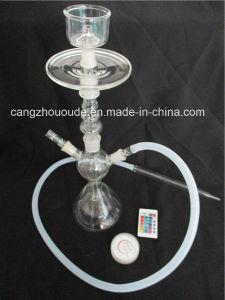 Transparent Glass Smoking Hookah Pipes pictures & photos