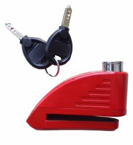 Motorcycle Part Dick Lock with Alarm pictures & photos
