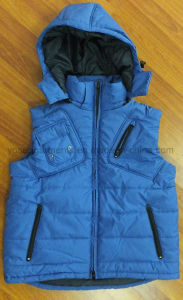 Waterproof Nylon Winter Padded Outer Body Warmer Vest (BW18) pictures & photos