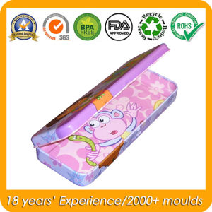 Pencil Tin Box with Clear Window for Metal Gift Box pictures & photos