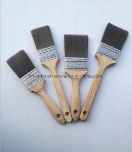 High Quality Top Grade Filament Paint Brush with Natural Hardwood Handle in Us Market pictures & photos