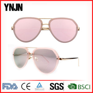 China Hot Sale Revo Coating High Fashion Sunglasses Women (YJ-12677) pictures & photos