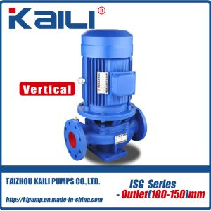 ISG Series Vertical Pipeline Centrifugal Water Pump pictures & photos