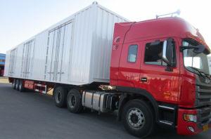 45 Feet Van Type Container Semitrauiler pictures & photos
