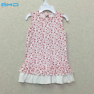 Sleeveless Baby Wearing Gtos Baby Clothes Dress pictures & photos