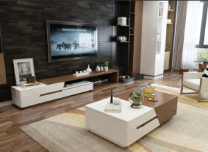 Wooden Coffee Table with TV Stand, Center Table (1485) pictures & photos