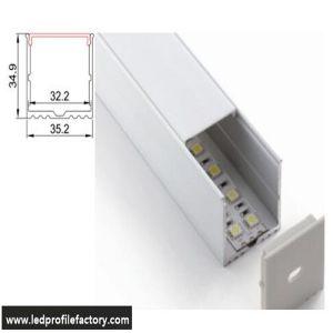 4205 LED Aluminium Extrusion for Ceiling Light pictures & photos