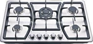 Sabaf 5 Burner Stainless Steel Gas Hob pictures & photos