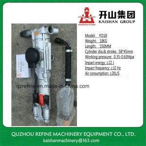 Kaishan YO18 Hand Hold Ultralight Pneumatic Rock Drill pictures & photos