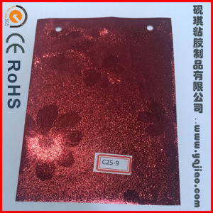Metallised Shiny High Gloss PVC Film for Lamination or Furniture with Different Colos pictures & photos