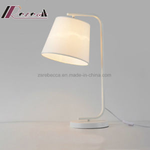 Simple American Style Fabric Covering Table Lamp for Living Room pictures & photos