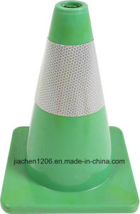 300mm Yellow PVC Traffic Cone for Road Safety pictures & photos