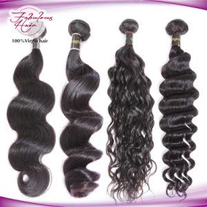 Unprocessed Brazilian Virgin Human Hair Weaving pictures & photos