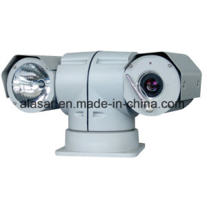 Night Vision 500m Vehicle-Mounted HID Lamp Variable Speed PTZ Camera pictures & photos