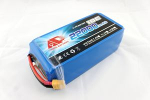 High Quality 22000mAh 22.2V Lithium Polymer Agricultural Uav Battery pictures & photos