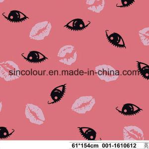 Lip Print 80%Nylon 20%Spandex Swimwear Fabric for Swimwear pictures & photos