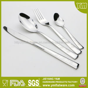 Stainless Steel Cutlery with Different Laser Patterns pictures & photos