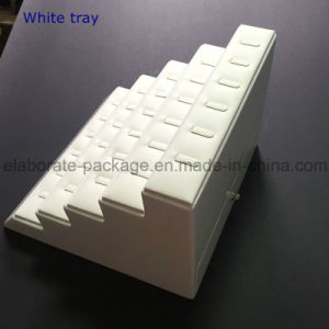 Luxury White Wooden Exhibition Jewelry Display Showcase pictures & photos