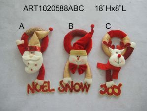 Christmas Santa Snowman Moose Countdown Gift, 3 Asst-Christmas Decoration pictures & photos