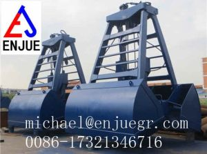 Manufacture Radio Wireless Electric Hydraulic Remote Control Clamshell Grab Bucket for for Marine Crane pictures & photos