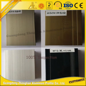 Electrophoresis Paint in Aluminum Profiles for Machinery pictures & photos