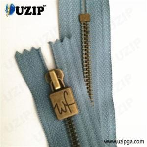 Zipper Production Centers Anti Brass Zipper / 5 Dress Metal Zipper / Non Separating Zipper
