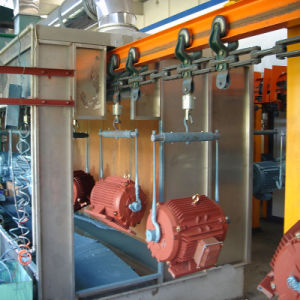 Spray Painting Production Line with Paint Booth pictures & photos