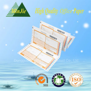 Wholesale Printing Mutil-Ply Carbonless Airway Bill Computer Continuous Paper pictures & photos
