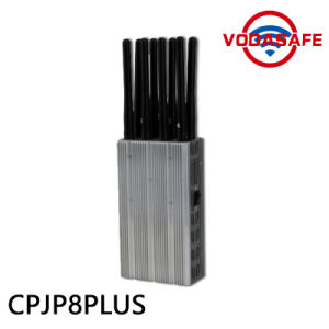 2016 New 8 Antennas High Power Handheld 3G/ 315/ 433/ Lojack Jammer, Built-in Battery, Portable 2g 4G Lte GSM CDMA Cell Phone Signal Blocker pictures & photos