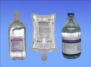 Common IV Solutions Sodium Lactate Ringer′s Injection GMP Factory pictures & photos