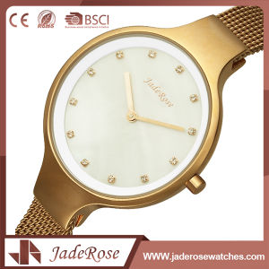Ladies Mineral Glass Stainless Steel Elegance Quartz Watch pictures & photos