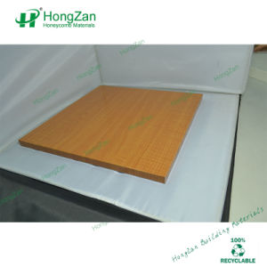Wooden Grain Aluminum Honeycomb Panel for Wall Faç Ade pictures & photos