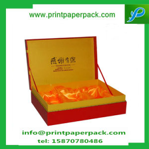 Custom Luxury Foldable Cardboard Gift Paper Box Packaging Wine Box Jewelry Box with Silk Insert pictures & photos