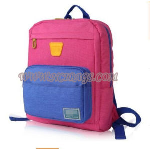 2017 Promotion Colorful Polyester School Book Back Bag pictures & photos