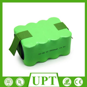 14.4V 3500mAh Ni-MH Sc Battery Pack for Vacuum Cleaner pictures & photos