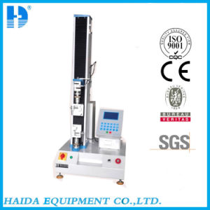 Electronic Single Column Tensile Strength Testing Machine pictures & photos