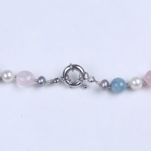 Freshwater Pearl and Semi-Precious Stone Necklaces pictures & photos