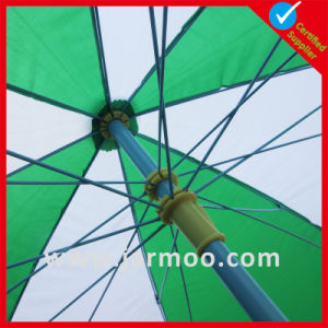 Aluminium Pole Patio Folding Parasol pictures & photos