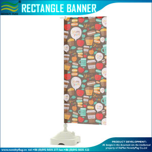 Outdoor Banner, Beach Rectangle Flag with Water Tank (J-NF04F06062) pictures & photos