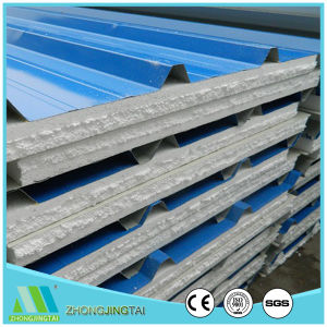 Zjt High Quality Composite Color Steel EPS Sandwich Panel pictures & photos