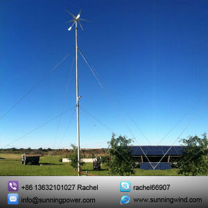Wind Turbine Solar Panel Power Supply System Used on Farm pictures & photos